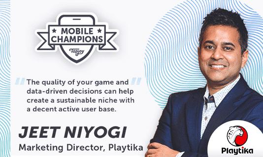 Mobile Champions Jeet Niyogi