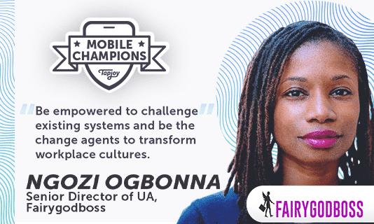 Mobile Champions Ngozi Ogbonna