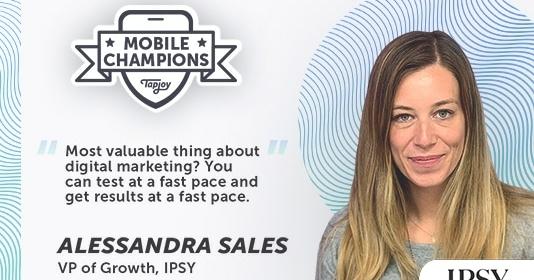 Mobile Champions Alessandra Sales