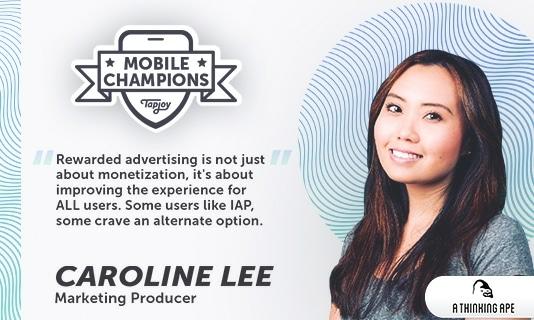 Mobile Champions Caroline Lee